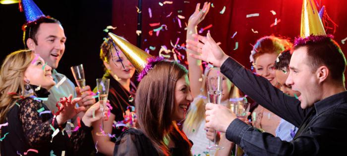 Сценарии новогодней вечеринки с друзьями