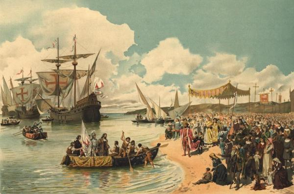 colonial exchange during the age of discovery