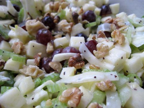Салат с черешковым сельдереем фото
