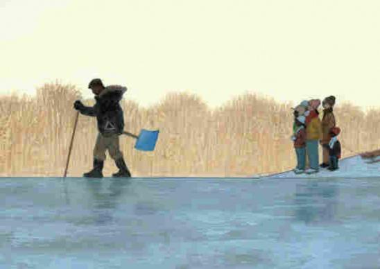 правила поведения на воде зимой