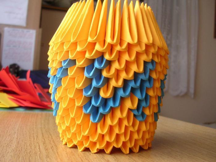 объемное модульное оригами