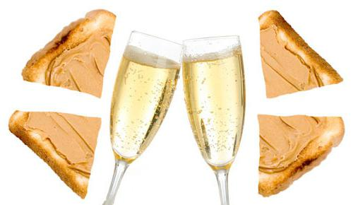 champagne snack recipes
