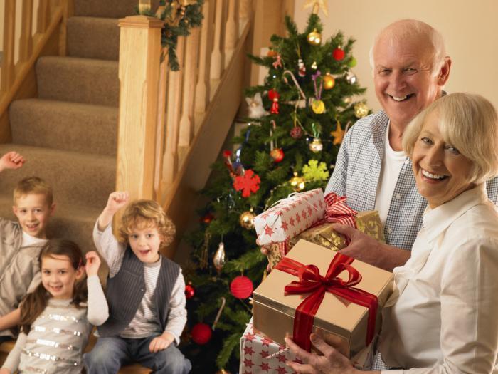 Картинки по запросу бабушка и дедушка в новый год