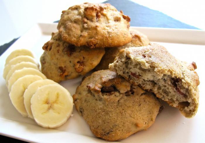 Диетическое банановое печенье рецепт