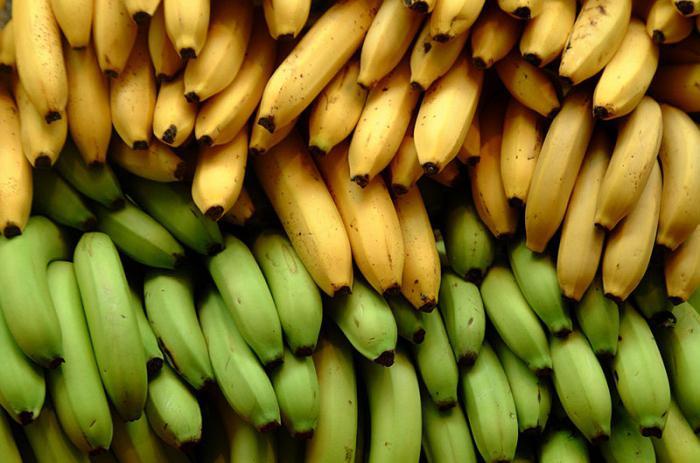 banana calories per 100 grams