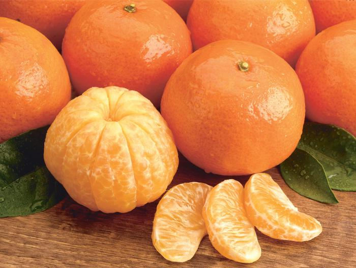 use of mandarins