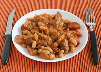 beans with meat