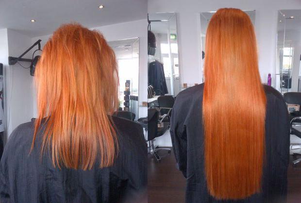 Ленточное наращивание волос фото до и после