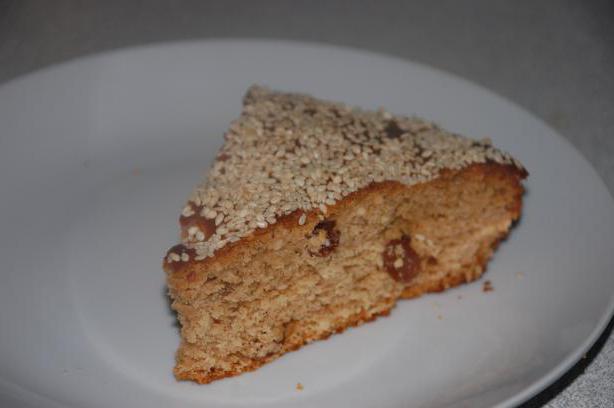 Пісній торт рецепт