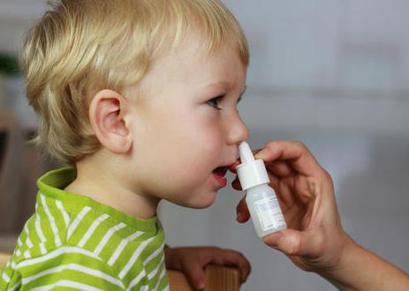 ребенок заложен нос соплей нет