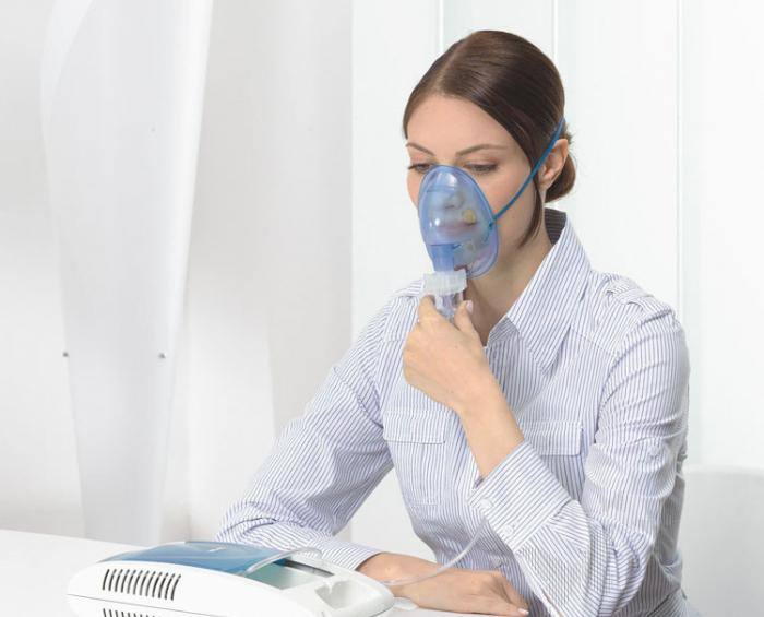 inhalation with a dry cough nebulizer