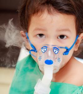 after inhalation with a nebulizer