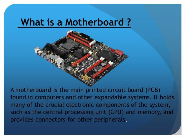 what is a motherboard