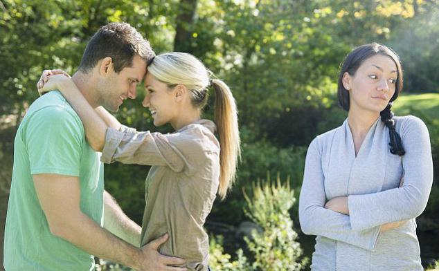 break a relationship with a married man