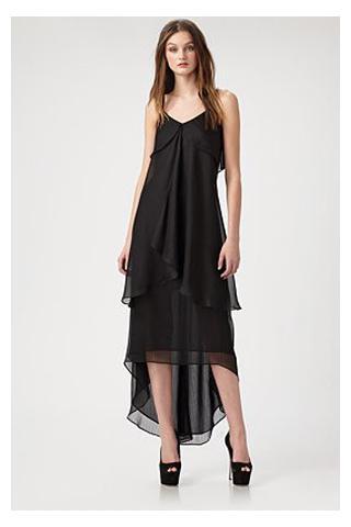 evening dresses with a high waist