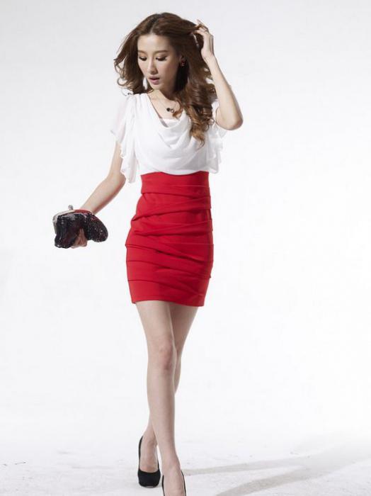 dresses with high waist