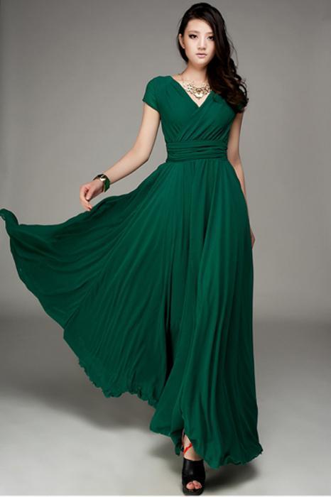 Длинные платье для маленького роста