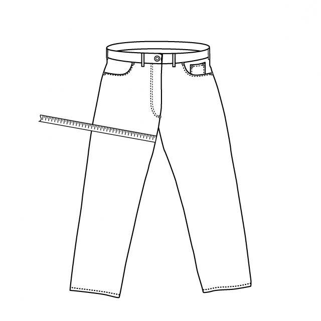 Размер джинс 33