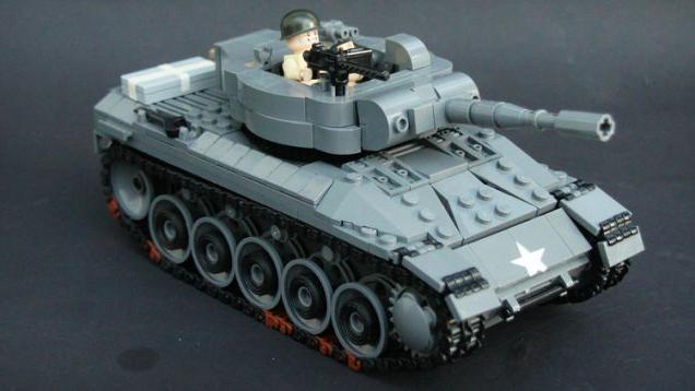 как сделать танк из лего