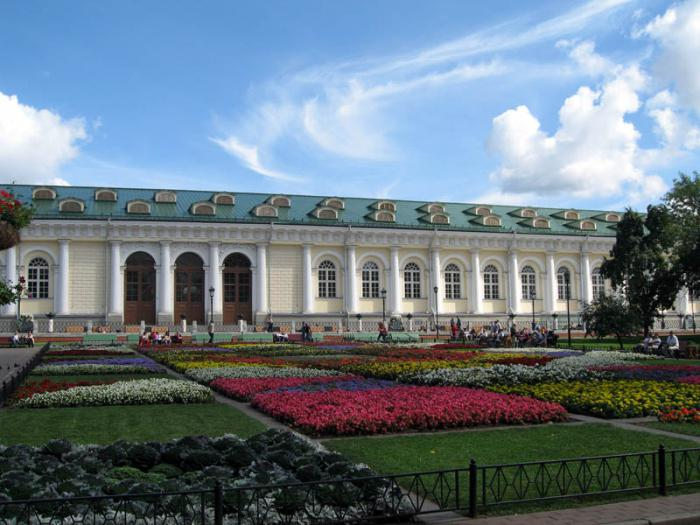 Alexander Garden in Moscow