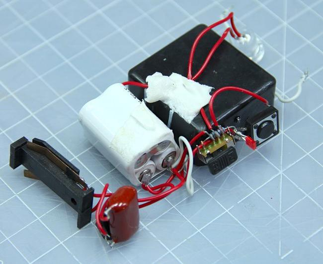 Электрошокер из батарейки своими руками в