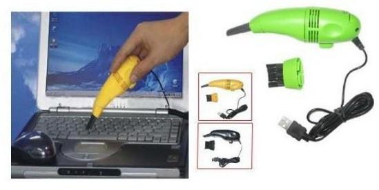 USB vacuum cleaner for computer