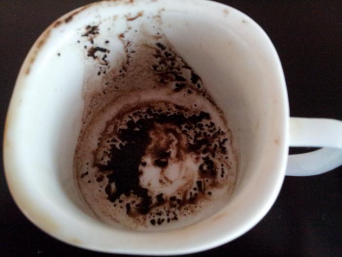 Гадание на кофейной гущи люди