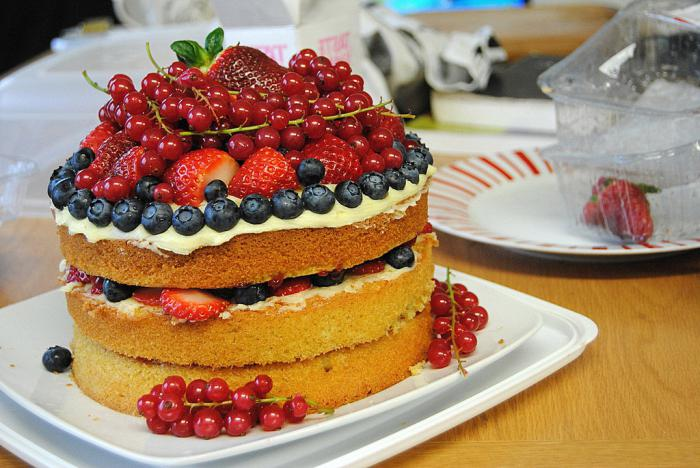 Бисквитный торт рецепт классический