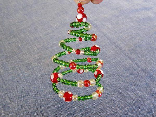 Маленькая новогодняя елка своими руками