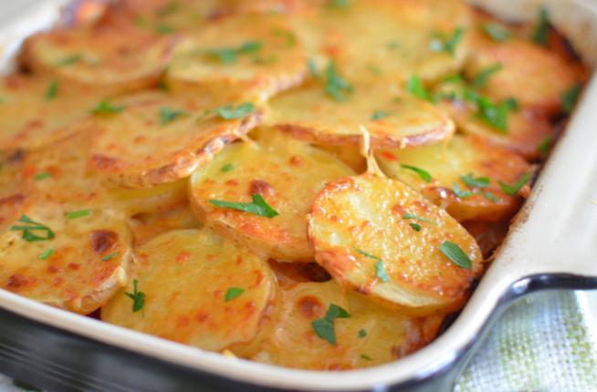 Картошка с майонезом с сыром в духовке рецепт с пошагово