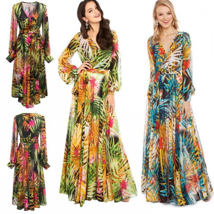Тёплое платье с длинными рукавами