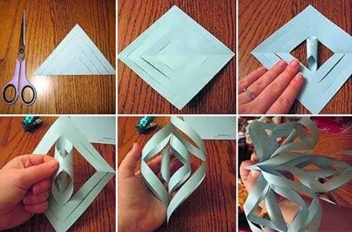 как делать поделки из бумаги