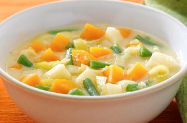 Суп пюре овощной диетический рецепт с фото