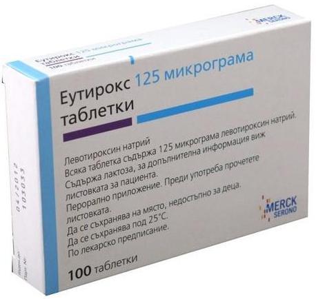 Эутирокс побочные действия
