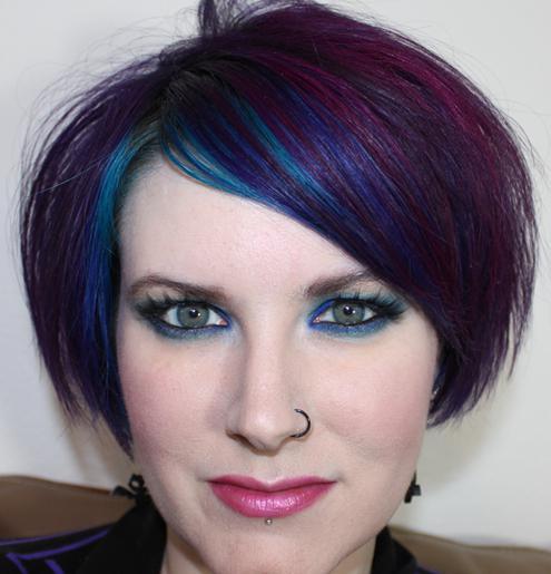Как пользоваться мелком для волос? Цветные мелки для волос
