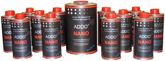 HADO additives in the engine