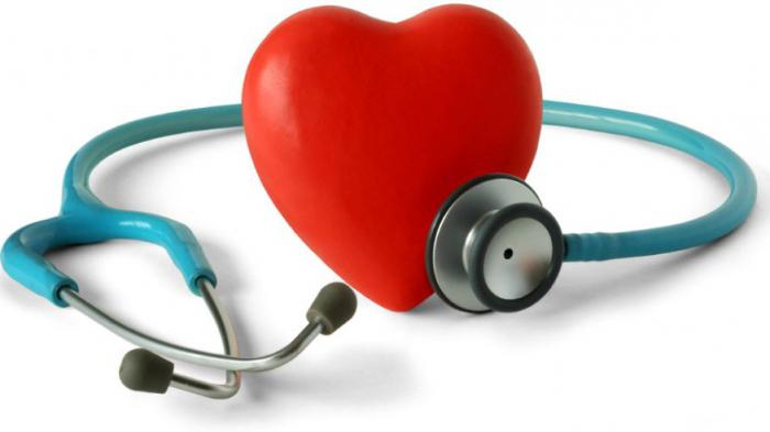 palpation of the heart