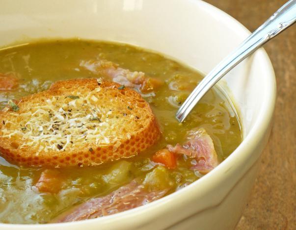 рецепт горохового супа из молодого гороха