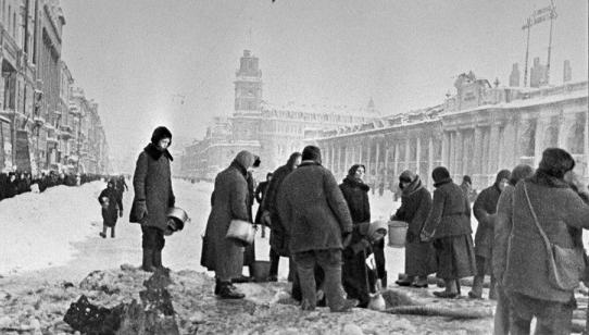 Leningrad blockade photo