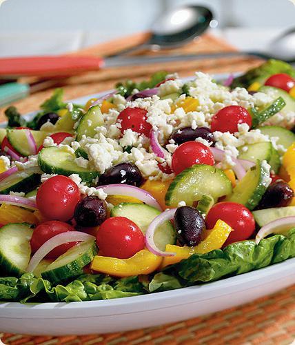 рецепты овощных салатов на праздничный стол с фото