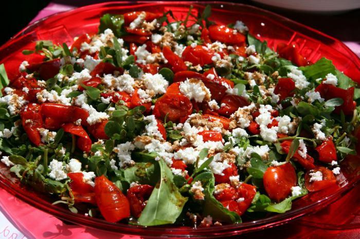Овощные салаты на праздничный стол рецепт
