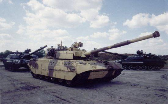 Ukrainian tank 84u stronghold