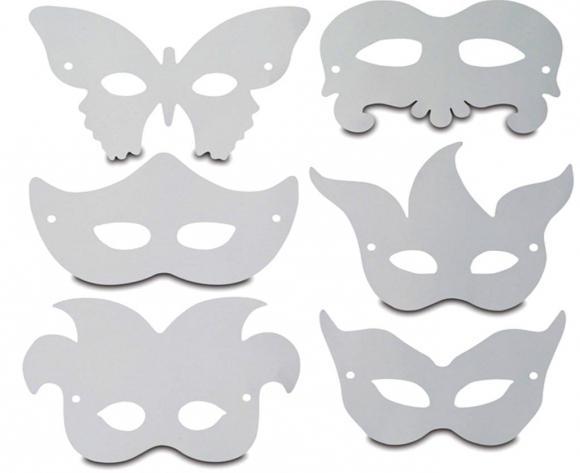 Как сделать маски для детей. Фото. Шаблоны. МК - Своими руками 18