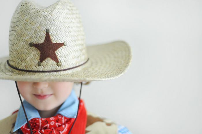 костюм ковбоя