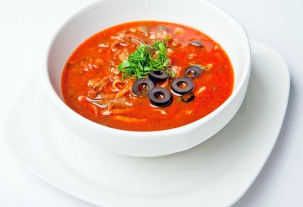 Мясная солянка не суп рецепт