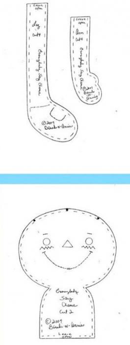 Как сшить лалалупси своими руками выкройка