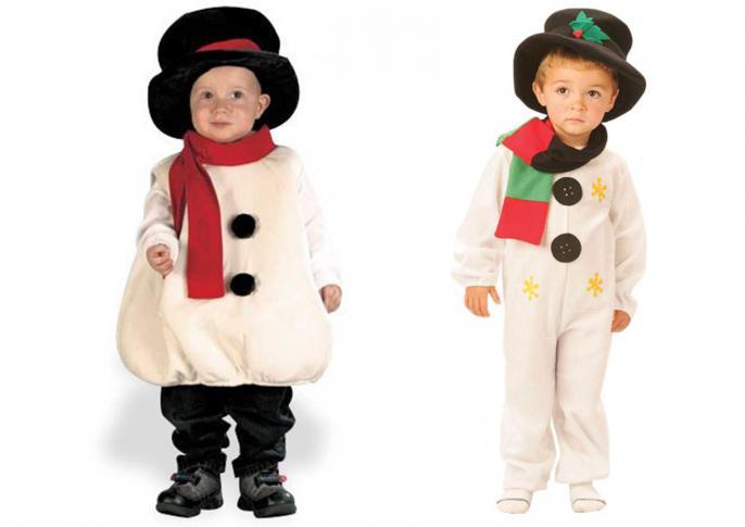 Как сшить костюм снеговика - 8 вариантов » Женский Мир