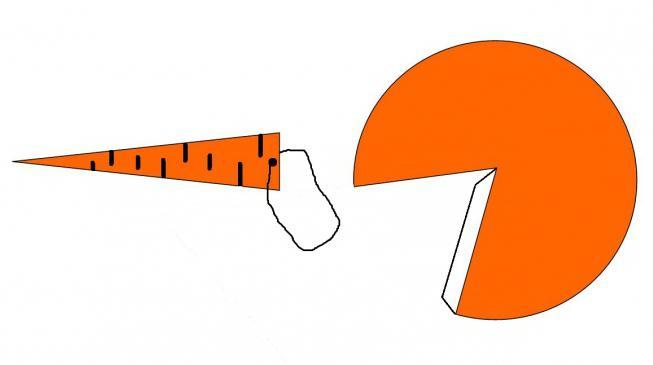 Как сделать нос снеговика своими руками