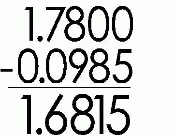 decimal rules