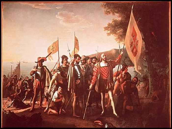 a history of christopher columbus first voyage to america Columbus's first voyage marked the beginning of more than three centuries of spanish although most people believe christopher columbus discovered america.